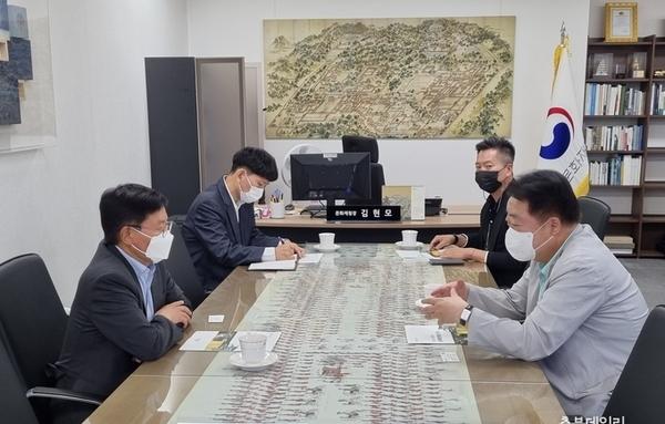 한범덕 청주시장, 휴가 중 국비 확보'구슬땀'